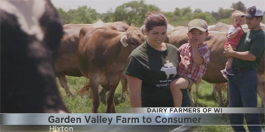 WKOW-TV 27: Wisconsin Dairy News Segment on Garden Valley